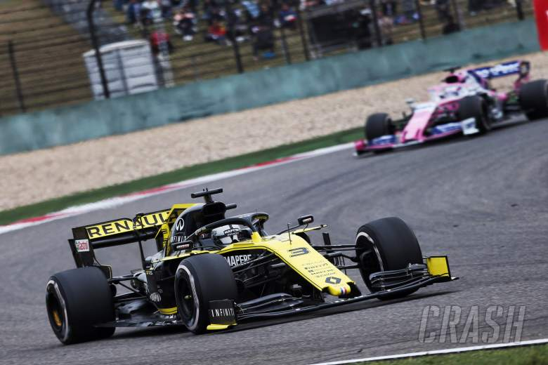 F1: Ricciardo surprised by Racing Point's Chinese GP race pace