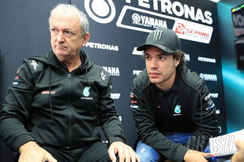 Franco Morbidelli, Roman Forcada, Petronas Yamaha,