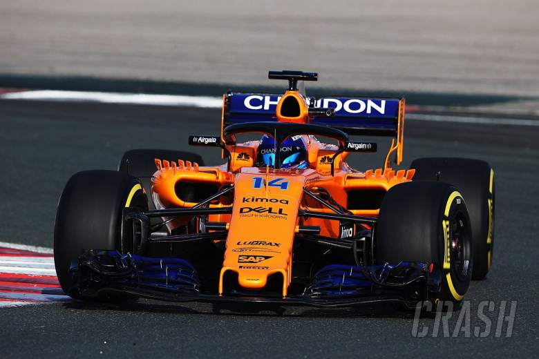 alonso: 'good times are coming' for mclaren after 1st f1 test