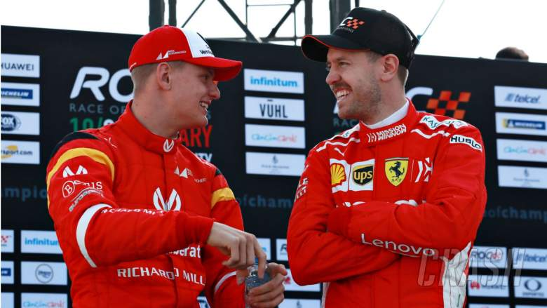 Vettel will teach Schumacher 'everything I know' ahead of F1 debut
