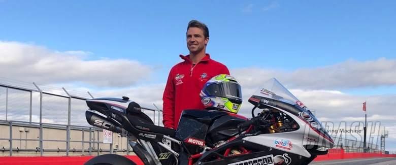 James Ellison, Bike Devil Insurance MV Agusta,