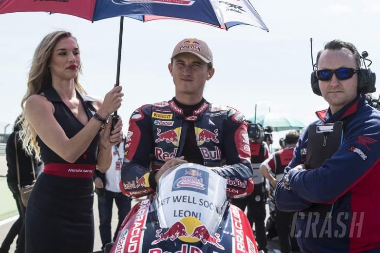 World Superbikes: Jake Gagne, Red Bull Honda,