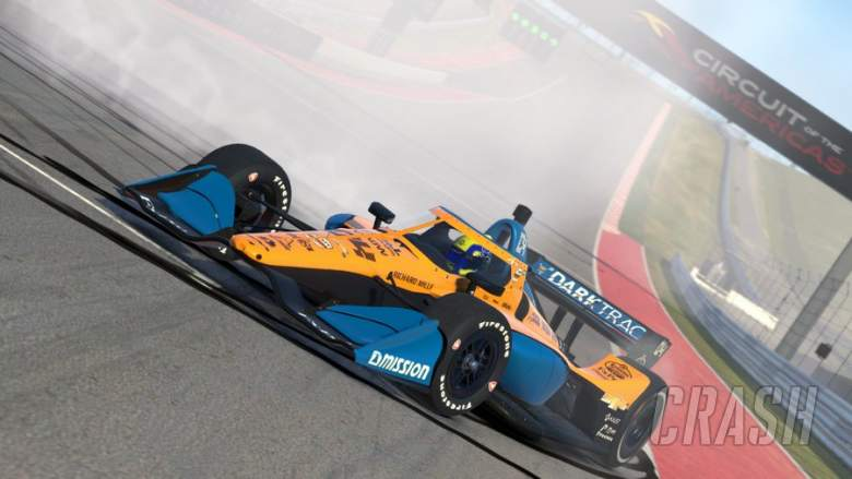 Norris wins after spin on IndyCar Esports debut