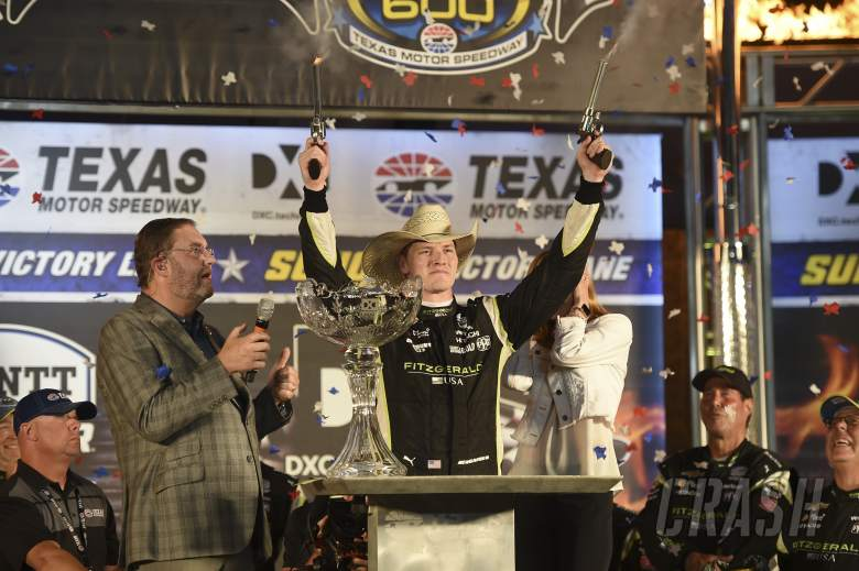 Josef Newgarden victorious in dramatic DXC Technology 600 at Texas