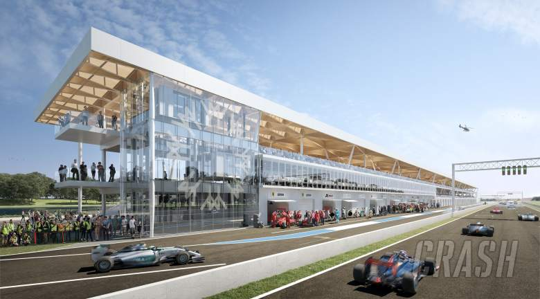 F1: New F1 pit complex plans revealed for 2019 Canadian GP
