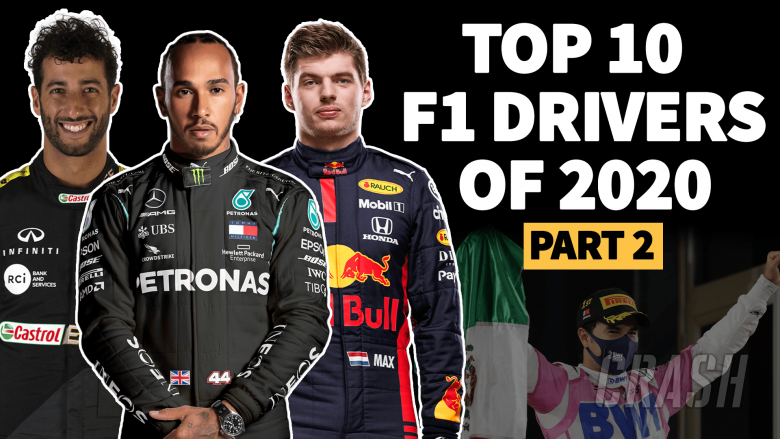 VIDEO: Who were the top 10 drivers of the 2020 F1 season? Part 2