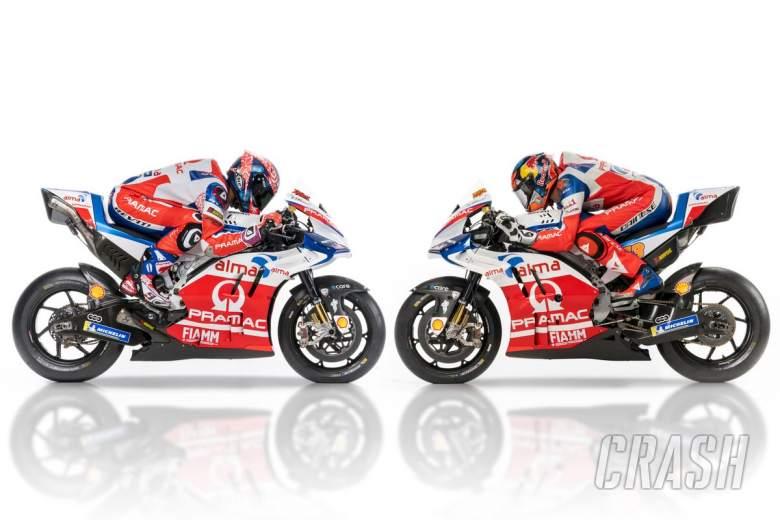 MotoGP: 2018 Pramac Ducati, Miller, Petrucci,
