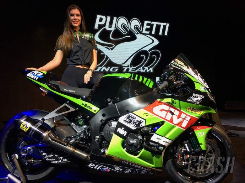 World Superbikes: Kawasaki Puccetti unveils 2018 colours, Haslam set for Imola wildcard