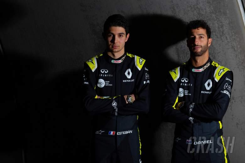 Daniel Ricciardo, Esteban Ocon, Renault, F1,