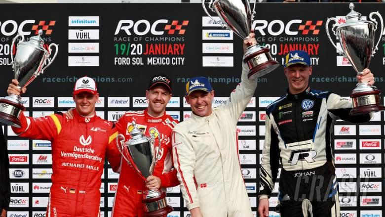 Other: Sebastian Vettel, Mick Schumacher, Race Of Champions,