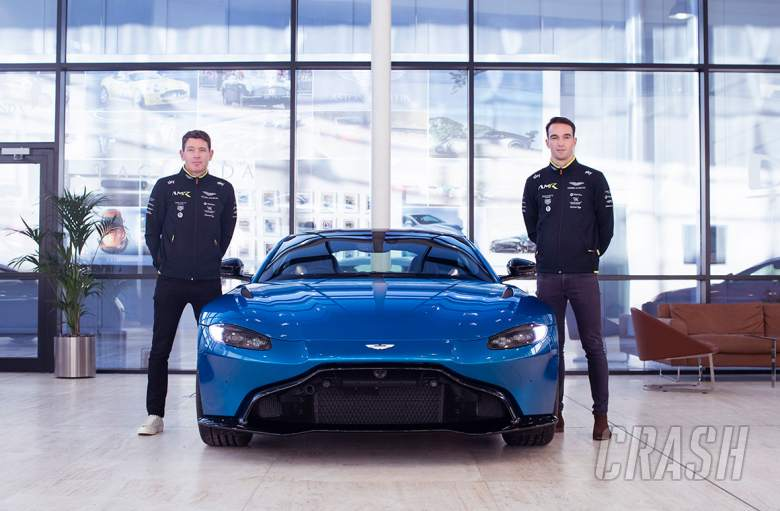 Tincknell, Westbrook join Aston Martin for Le Mans