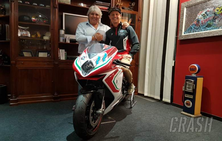 MotoGP: Dominique Aegerter, MV Agusta Forward Racing,
