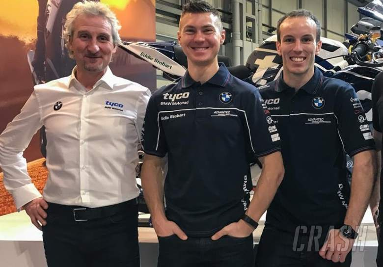 British Superbikes: Tyco BMW, Phillip Neill, Christian Iddon, Keith Farmer,