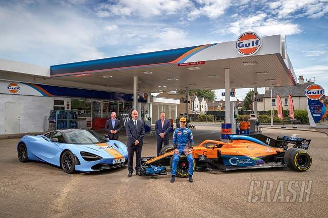 McLaren rekindles Gulf Oil partnership