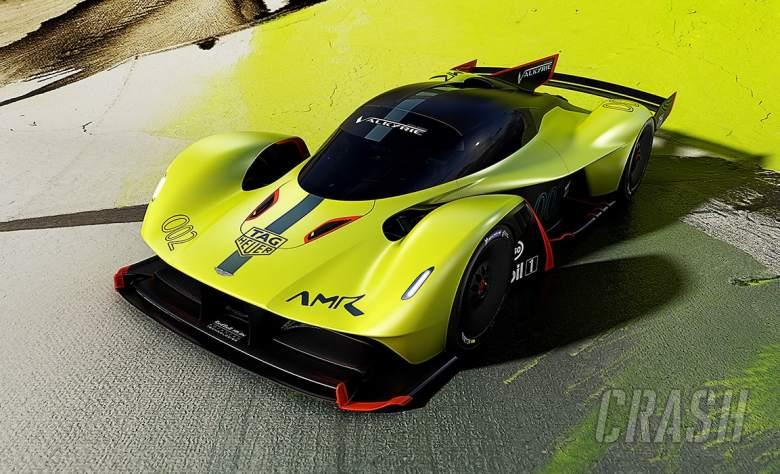Aston Martin Red Bull Valkyrie, AMR Pro,