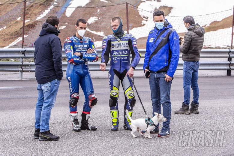 Rins and Rabat begin training in Andorra.