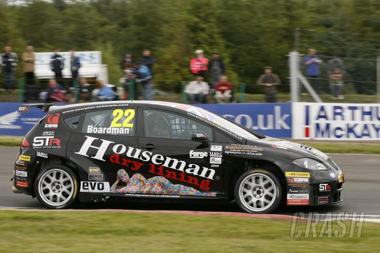 : Tom Boardman (GBR) Special Tuning Racing SEAT Leon