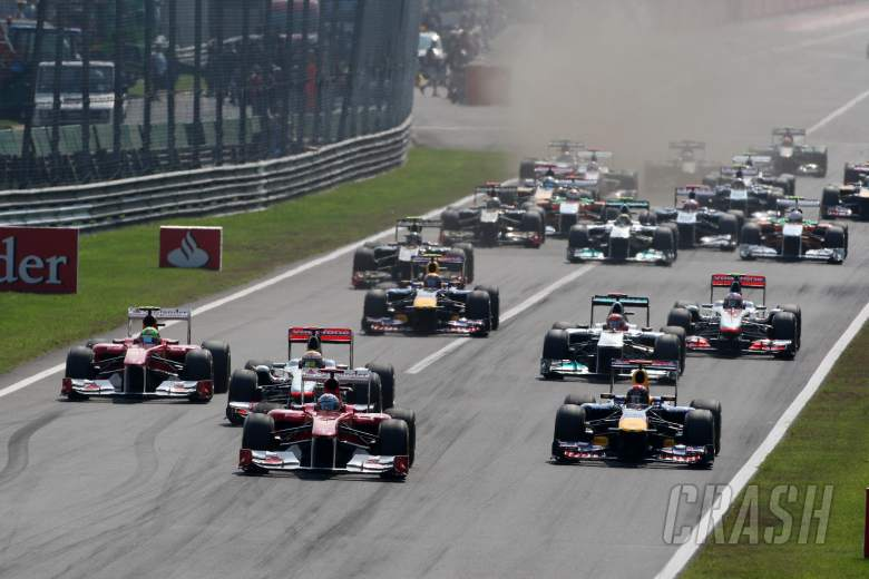 11.09.2011- Race, Start of the race