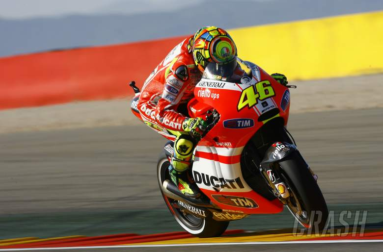 Rossi, Aragon MotoGP 2011