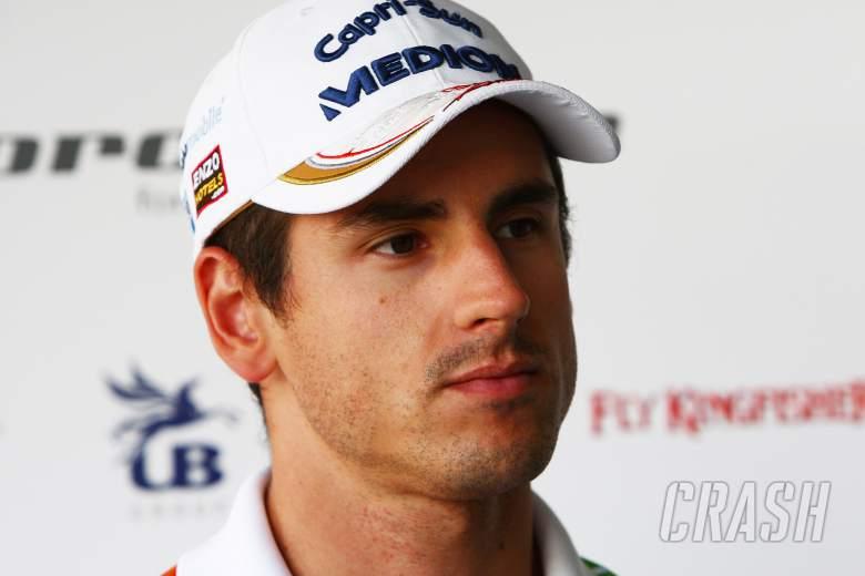 13.10.2011- Adrian Sutil (GER), Force India F1 Team, VJM04