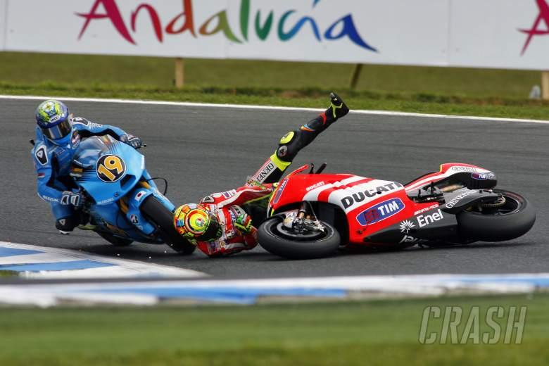 Rossi, Australian MotoGP Race 2011