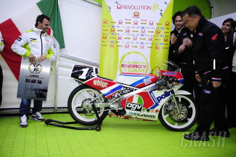 Capirossi, Nakamoto, Valencia MotoGP 2011