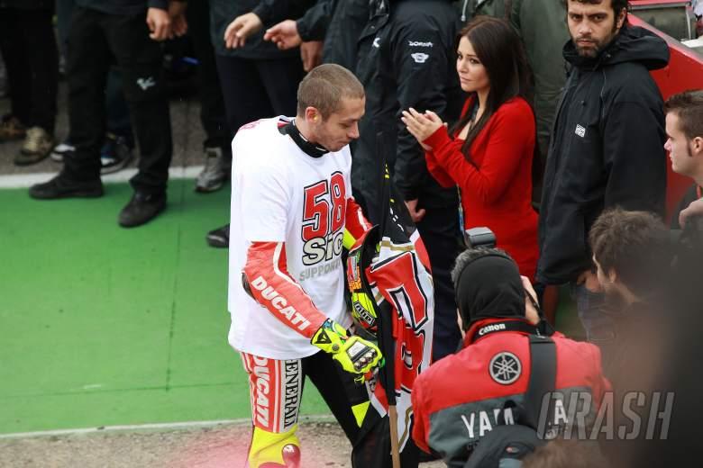 , - Rossi, Valencia MotoGP 2011