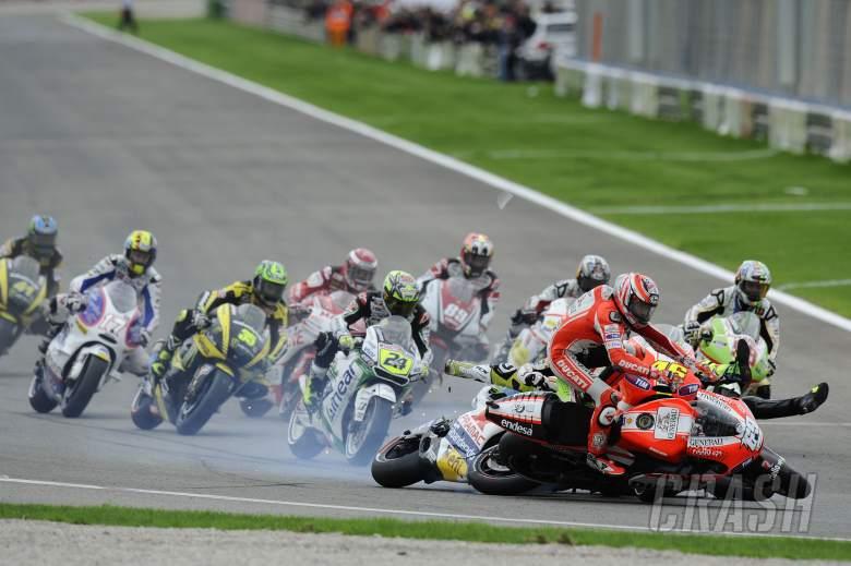 Hayden, Valencia MotoGP Race 2011