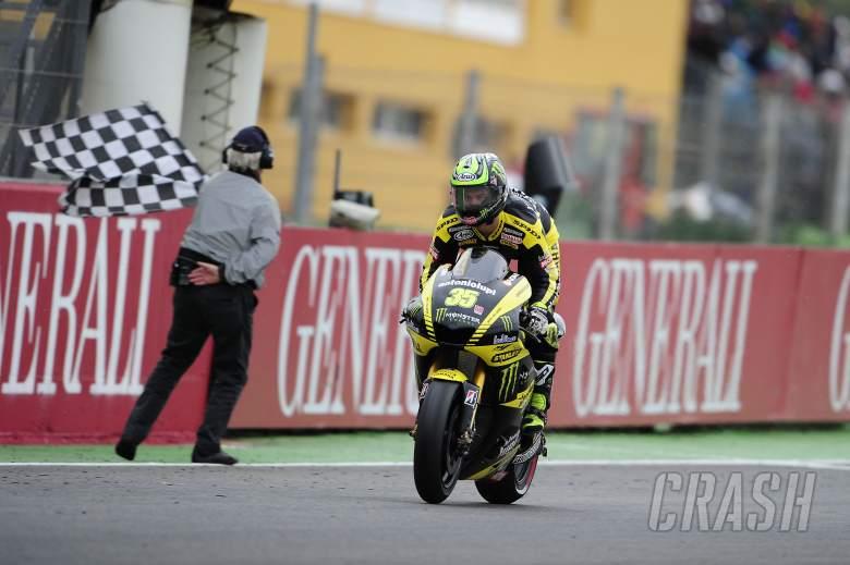 , - Crutchlow, Valencia MotoGP Race 2011
