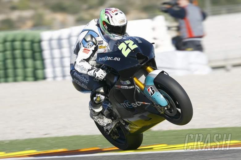 Silva, BQR Inmotec, Valencia MotoGP tests, November 2011