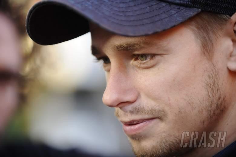 Stoner, Valencia MotoGP Test, November 2011