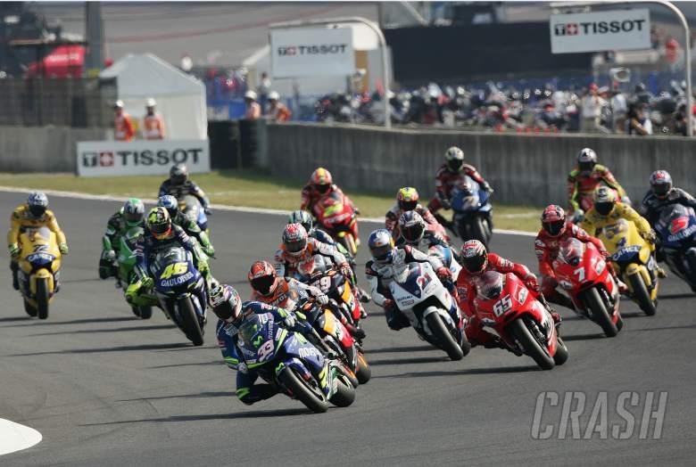 Start, Japanese MotoGP 2005