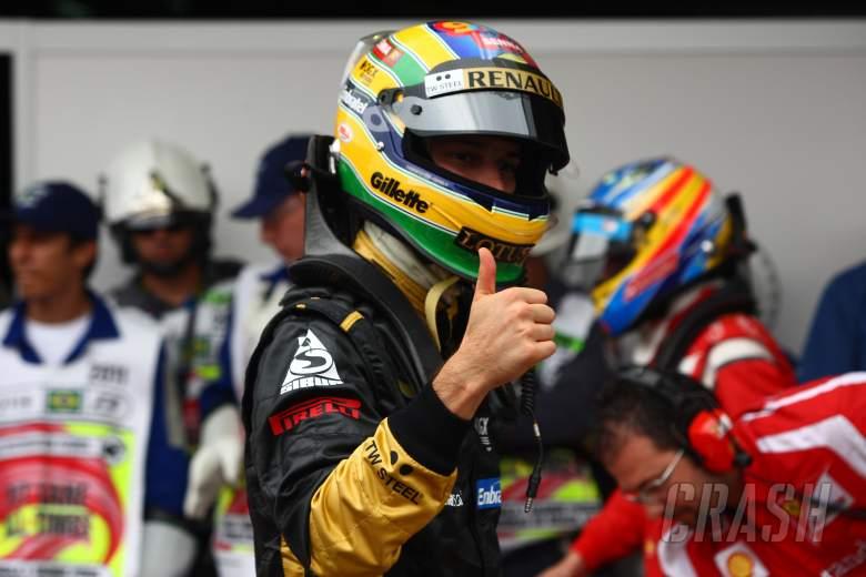26.11.2011- Qualifying, Bruno Senna (BRA), Lotus Renault GP R31