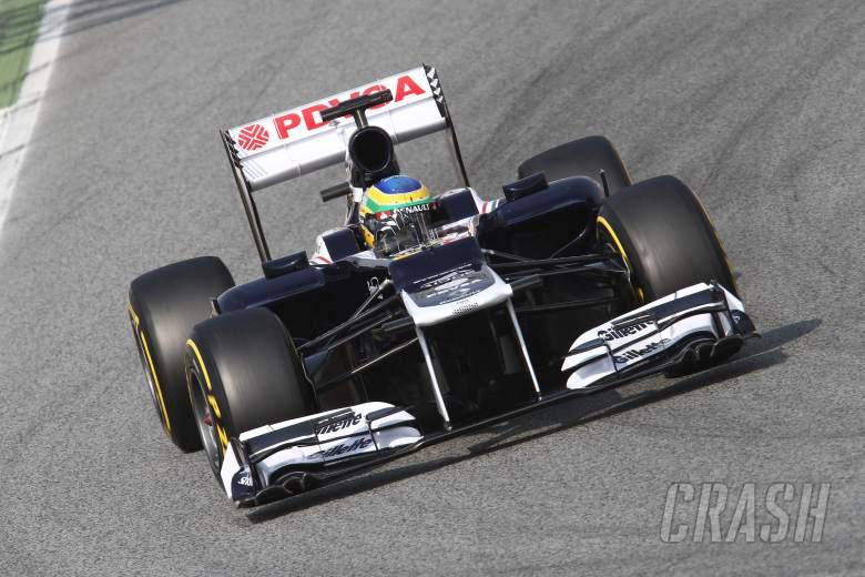 03.03.2012 Bruno Senna (BRA), Williams-Renault FW34