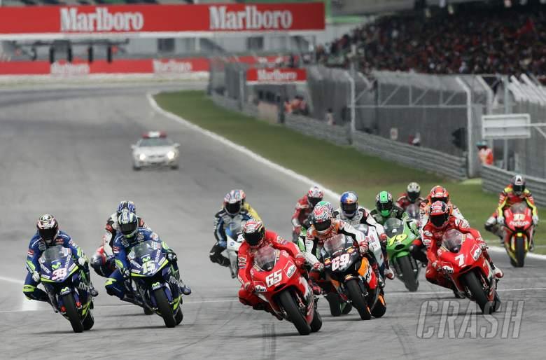 Capirossi leads, Malaysian MotoGP Race 2005