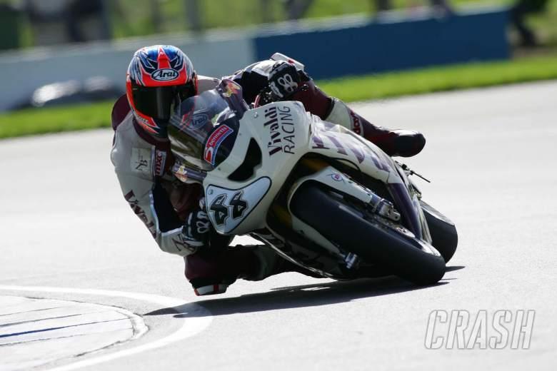 , - British Superbikes Donington Park 25/09/05. Scott Smart, Vivaldi Racing.