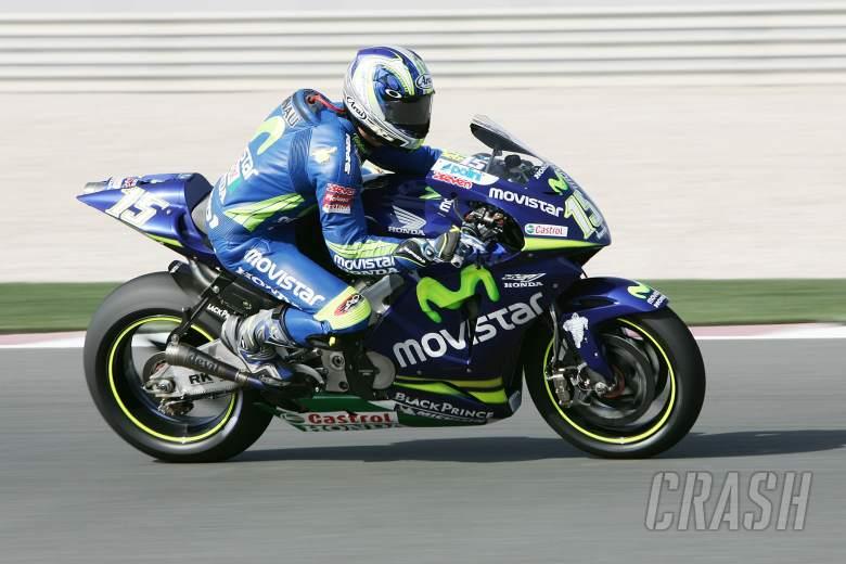 Gibernau, Qatar MotoGP 2005
