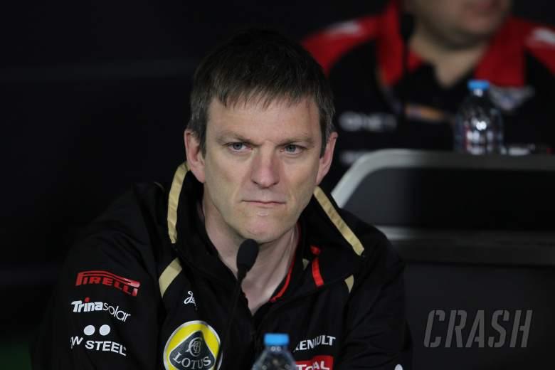 13.04.2012 - James Allison (GBR) Lotus