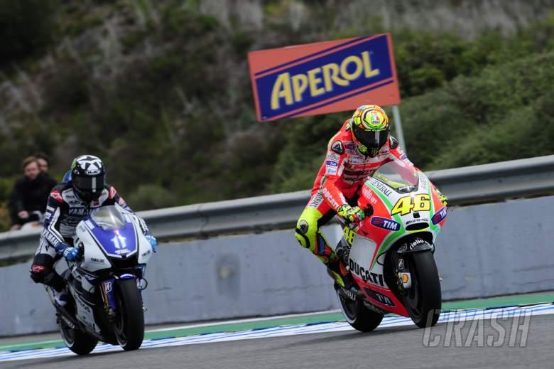 Rossi, Spanish MotoGP Race 2012