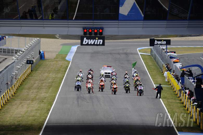 , - Grid, Spanish MotoGP Race 2012