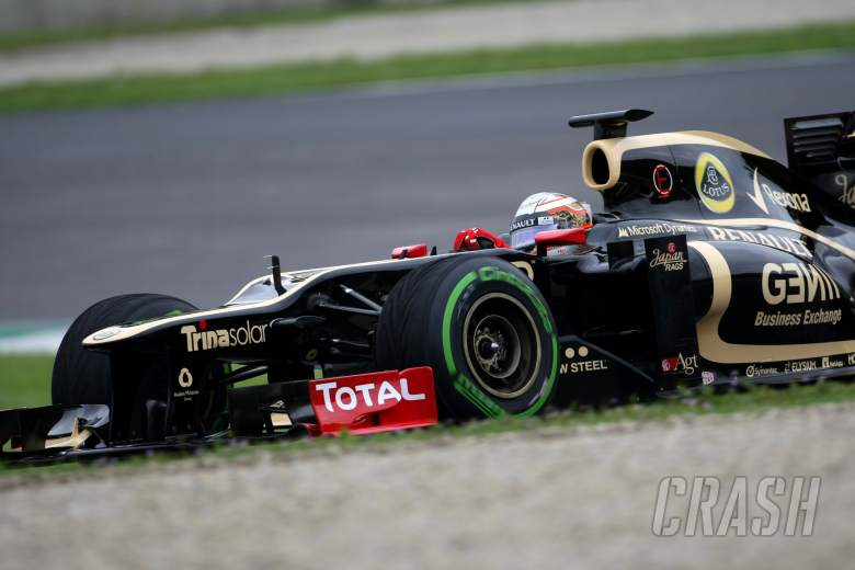 Jerome d'Ambrosio (BEL), third driver, Lotus F1 Team 01.05.2012. Formula 1 World Championship, Te