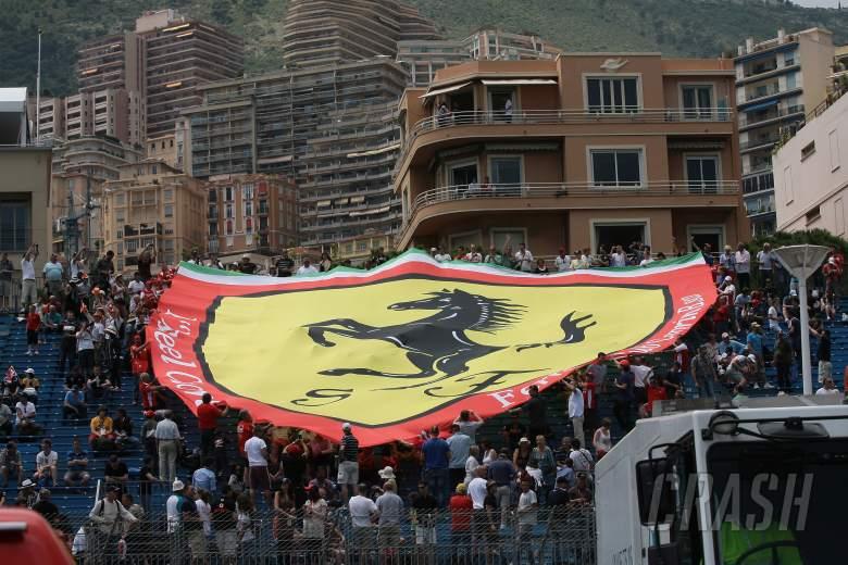 24.05.2012- Free Practice 2, Fans Ferrari