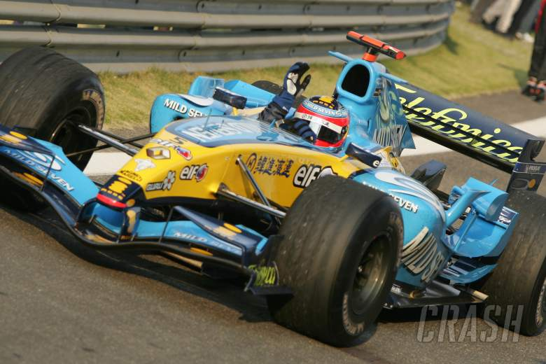 , - Fernando Alonso - Renault R25