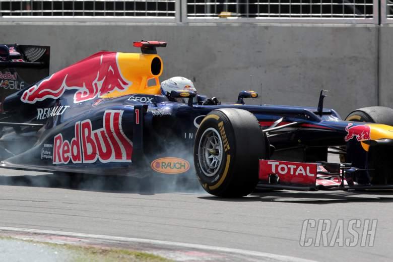 10.06.2012- Race, Sebastian Vettel (GER) Red Bull Racing RB8
