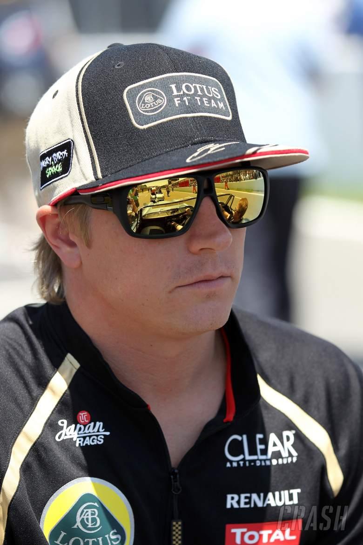 10.06.2012- Race, Kimi Raikkonen (FIN) Lotus F1 Team E20