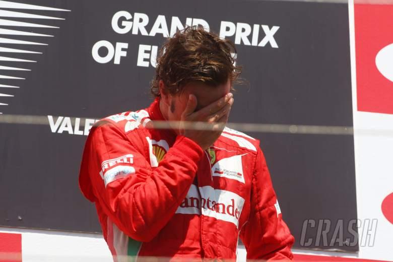 , - 24.06.2012- Race, Fernando Alonso (ESP) Scuderia Ferrari F2012 race winner
