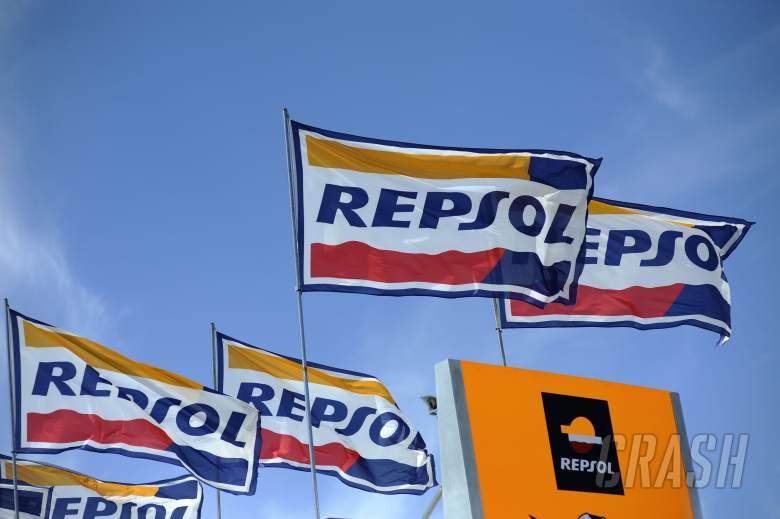 Repsol Honda flags, Italian MotoGP 2012