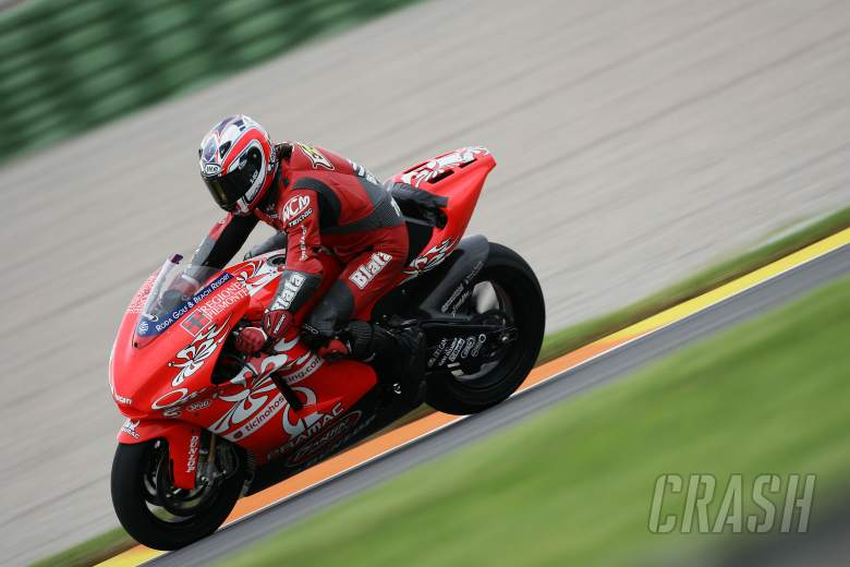 Ellison makes D`Antin Ducati debut, Valencia MotoGP tests, November 2005