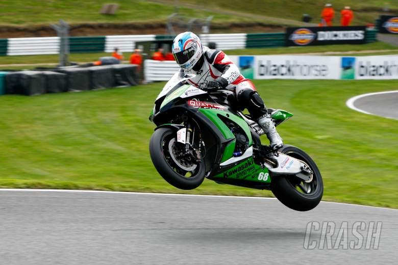 , - Karl Harris Quattro Plant Kawasaki Superbike Team - [picture credit: Ian Hopgood Photography.com]