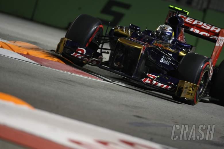 , - 21.09.2012 - Free practice 2, Jean-Eric Vergne (FRA) Scuderia Toro Rosso STR7